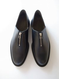 ISHMM       zip shoes・black