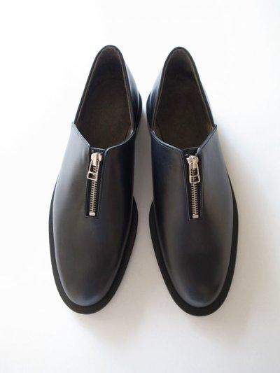画像1: ISHMM       zip shoes・black