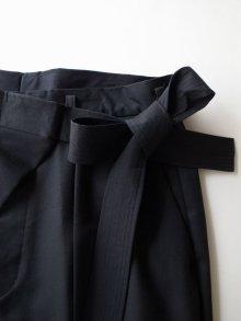 他の写真3: SOSHI OTSUKI       ソウシオオツキ WRAP KNOT WIDE TROUSERS・BLACK
