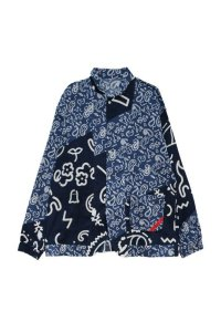 PHINGERIN       フィンガリン NIGHT SHIRT GAUZE SPOOKY PAISLEY