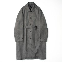 stein       OVER SLEEVE INVESTIGATED COAT・HERRINGBONE