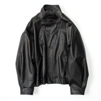 stein       OVER SLEEVE FAKE LEATHER JACKET・LEATHER