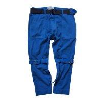PEEL&LIFT        bondage trousers modern with bum flap バムフラップ付ボンテージトラウザース・ブルー