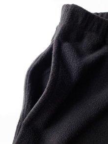 """他の写真2: RELAX FIT       リラックスフィット """"EXPRESS MOTEL SLACKS""""フリーススラックス・ブラック"""