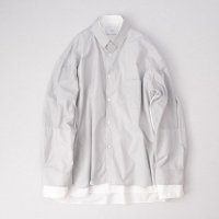 stein         OVERSIZED 4LAYERED SHIRT