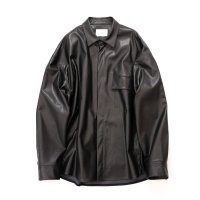 stein       FAKE LEATHER DOWN PAT SHIRT