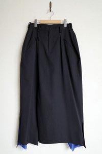 """sulvam       サルバム """"skirt pants""""スカートパンツ"""