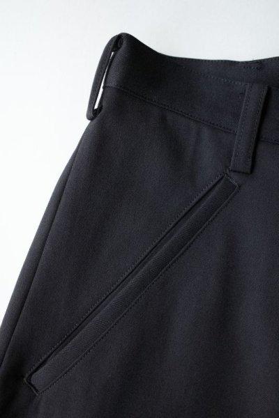 """画像2: sulvam       サルバム """"slit pants""""スリット入りワイドパンツ"""