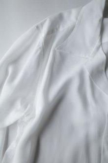 """他の写真3: sulvam       サルバム """"tencel open coller shirt""""テンセルテープ付きオープンシャツ"""