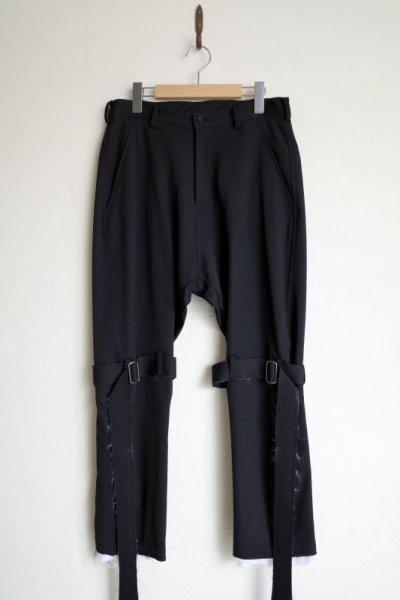 """画像1: sulvam       サルバム """"gabardine classic bondage pants""""ボンテージパンツ"""