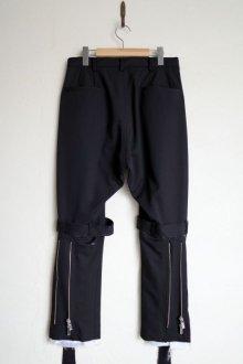 """他の写真1: sulvam       サルバム """"gabardine classic bondage pants""""ボンテージパンツ"""