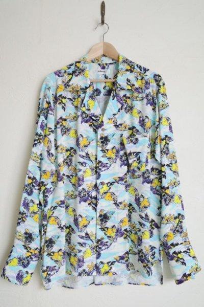 """画像1: sulvam       サルバム """"long sleeve ALOHA shirt""""ロングスリーブアロハシャツ"""