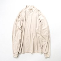 stein       OVERSIZED HIGH NECK LS・BEIGE
