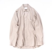 stein       OVERSIZED WIND SHIRT・BEIGE