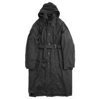 stein       OVERSIZED LAYERED HOODED COAT