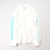 stein       OVERSIZED LONG SLEEVE TEE・NEW ORDER/WHITE