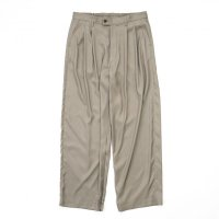 stein       CUPRO WIDE TROUSERS・G.KHAKI