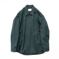 stein       OVERSIZED  ZIP SHIRT JACKET・GREEN
