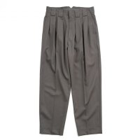 stein       DOUBLE WIDE TROUSERS・GREY KHAKI