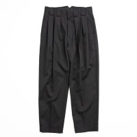 stein       DOUBLE WIDE TROUSERS・BLACK