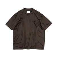 stein       OVERSZED POCKET TEE・DARK BROWN