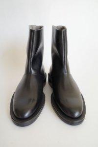 ISHMM       back zip boots  black 予約