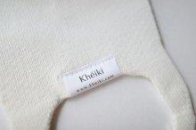 """他の写真3: Khéiki       Knitted Mask 2pcs Set """"KMK"""" Premium Suvin Cotton・Dune"""