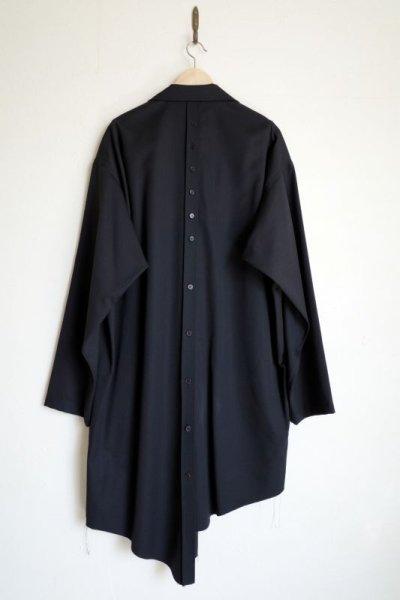 """画像2: sulvam       サルバム """"classic shirt""""ギャバジンロングシャツ"""