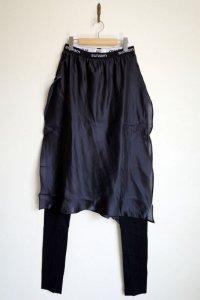 """sulvam       サルバム """"mens skirt leggings""""スカート付レギンスパンツ"""