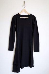 """sulvam       サルバム """"jersey right flare dress""""ジャージーフレアドレス"""