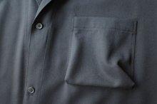 """他の写真2: sulvam       サルバム """"classic shirt""""ギャバジンロングシャツ"""
