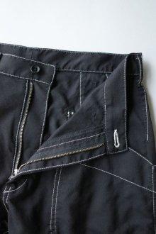 """他の写真2: sulvam       サルバム """"chain stitch patchwork pants""""チェーンステッチパッチワークパンツ"""
