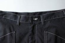 """他の写真1: sulvam       サルバム """"chain stitch patchwork pants""""チェーンステッチパッチワークパンツ"""