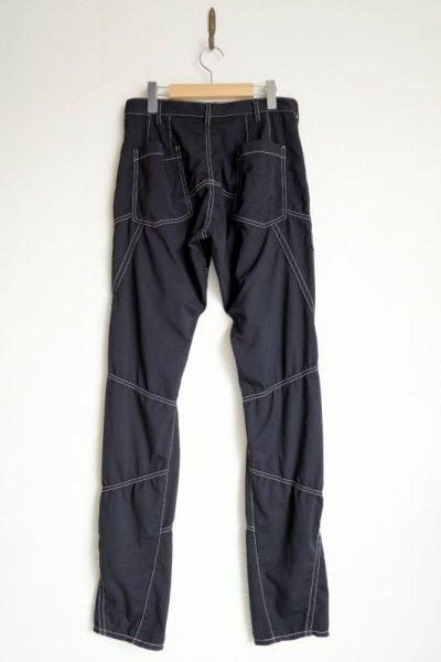 """画像2: sulvam       サルバム """"chain stitch patchwork pants""""チェーンステッチパッチワークパンツ"""
