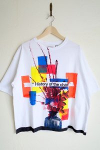 CILANDSIA   one-off TEE white・D