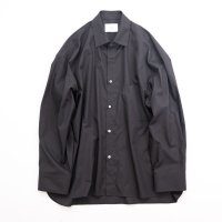 stein       OVERSIZED DOWN PATTERN SHIRT・SHADE CHARCOAL