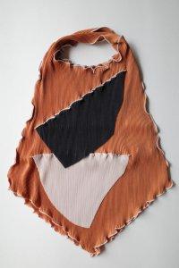 kotoha yokozawa       コトハヨコザワ pleats tote bag・orange