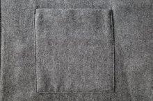 他の写真2: stein       OVERSIZED SQUARE POCKET SHIRT・DARK GREY