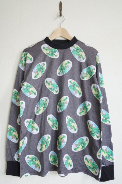 画像1: WATARU TOMINAGA       long sleeve T-shirt・parallel landscape