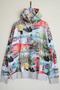 WATARU TOMINAGA       hooded sweatshirt・landscape&stones
