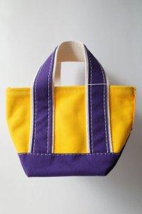 KOOKY ZOO       クーキーズー DINKYY BAG・yellow×purple
