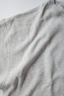 他の写真1: INTERIM       インテリム HYPER BIG V-GAZETTE LOOP WHEEL SWEAT SHIRT・GRAY