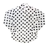 PEEL&LIFT        polkadot pinned collar shirt ドットプリントシャツ