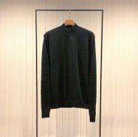 Khéiki       Mock-neck Sweater・Black